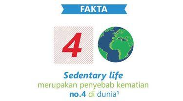 Dengan berbagai fasilitas yang mempermudah aktivitas manusia, sedentary life menjadi sulit dihindari. Ketahui ciri-ciri sedentary life melalui video berikut ini.