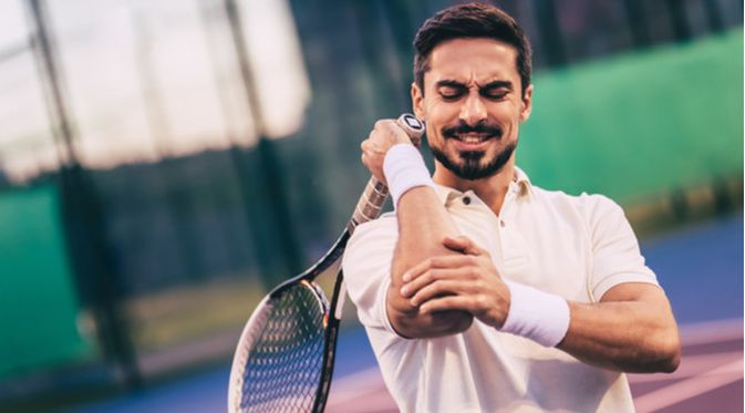 Penyakit Tennis Elbow (4 PM Production/Shutterstock)